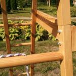 детский деревянный уголок
