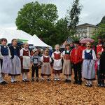 Kinderjodelchörli Bonaduz - Eidg. Jodlerfest Interlaken, Bild Samuel Trümpy