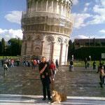 Anja und Frieda in Pisa