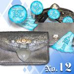 Kaiser Tracht Doppeltaschen, Exklusiv, Mehrzweck, Unikat, Echtleder, Markenbeutel