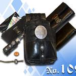Geldbeutel Black in Black mit Rautenmuster dezent gehalten Landgasthof Kaiser Tracht