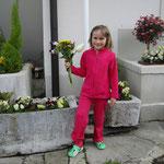 Dimanche matin 10h00 : le premier bouquet est réalisé !