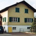 Bisherige Fassade Objekt Äbischer Sanierung durch Dani Vogt D. Vogt Holzbau GmbH CH 8855 Wangen SZ