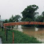 Spezialanfertigung Brücken bauen und versetzen Dani Vogt D. Vogt Holzbau GmbH  Allmeindstrasse 27 8855 Wangen