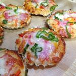 ミニピザ 野菜で育てた楽健寺酵母の生地がピザにぴったり