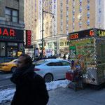 3月後半でもニューヨークはまだ雪が残って、マイナス5℃の世界。