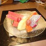 デザートはとても美味しいフルーツです