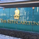 最初に、ザ・リッツカールトン。 ご紹介頂いた、大野さんにご案内頂きます。