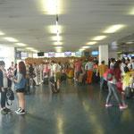 """""""香港・マカオ・珠海・投資研修会""""の4日目の朝です。 帰国の朝です。 前日チケットはもう購入済みなので、出国デスクへ。"""