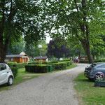 L'Allée centrale du camping !