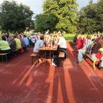 Die Mühlethurner genossen bei abwechslungsreichem Wetter die 1. August-Feier