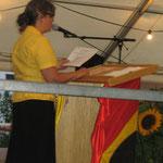 Rede Projektleiterin Marianne Gertsch
