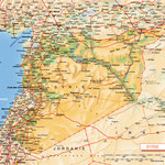 Syrie • Création carte touristique / Édition : Les Créations du Pélican • © recreacom.fr - Studio de création Christophe Houlès