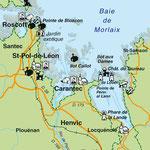 Création carte touristique / Édition : Les Créations du Pélican • © recreacom.fr - Studio de création Christophe Houlès