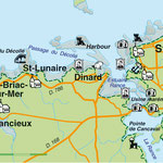 Création carte touristique / Édition : Les Créations du Pélican © recreacom.fr - Studio de création Christophe Houlès