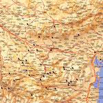 Carte-Cathare • Création carte touristique / Édition : Les Créations du Pélican • © recreacom.fr - Studio de création Christophe Houlès
