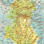 La Gascogne • Création carte touristique / Édition : Les Créations du Pélican • © recreacom.fr - Studio de création Christophe Houlès