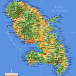La Martinique • Création carte touristique / Édition : Les Créations du Pélican • © recreacom.fr - Studio de création Christophe Houlès
