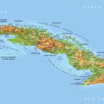 Cuba • Création carte touristique / Édition : Les Créations du Pélican • © recreacom.fr - Studio de création Christophe Houlès