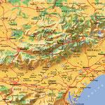 Languedoc-Roussillon • Création carte touristique / Édition : Les Créations du Pélican • © recreacom.fr - Studio de création Christophe Houlès