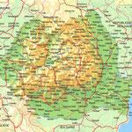La Roumanie • Création carte touristique / Édition : Les Créations du Pélican • © recreacom.fr - Studio de création Christophe Houlès
