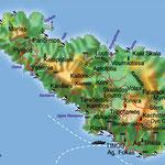 Tinos • Création carte touristique / Édition : Les Créations du Pélican • © recreacom.fr - Studio de création Christophe Houlès