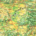 Tarn • Création carte touristique / Édition : Les Créations du Pélican • © recreacom.fr - Studio de création Christophe Houlès