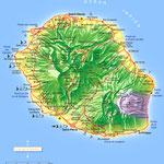 La Réunion • Création carte touristique / Édition : Les Créations du Pélican • © recreacom.fr - Studio de création Christophe Houlès