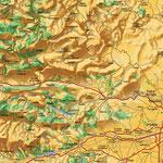 Perpignan • Création carte touristique / Édition : Les Créations du Pélican © recreacom.fr - Studio de création Christophe Houlès