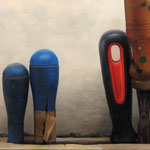 Hand made 2008 || Óleo sobre tabla, 68X150 cm.