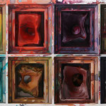 Watercolour box 2016 || Óleo sobre tabla, 53,5X140 cm.