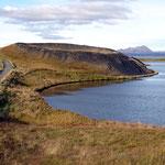 Mini cratère dans le lac Myvatn