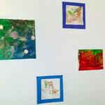 Fingerfarben, Sand und Kleister