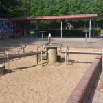 Wasserspielplatz im Elbroichpark