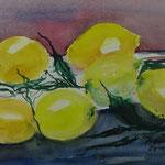 Stilleben Zitronen