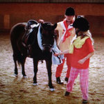 Toni & Lissy mit Moritz 2009 :D