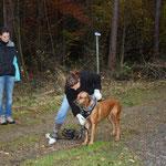 Gaby und Zuzana mit Ayuni am Start