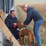 Andy und Nicole mit Zina