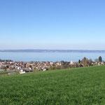 Wunderschöne Aussicht auf den Bodensee