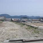 3900 山田町中央町付近の防潮堤の被災状況