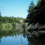 oder des Fischers Netze anschauen.