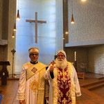 Gottesdienst mit Diakon Markus aus Berlin und S.E. Bischof Anba Damian