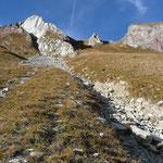 Aufstiegsweg zum Rothorn