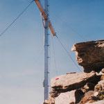 Gipfelkreuz der Lazinser Rötelspitze