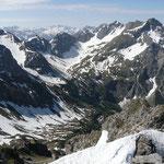 Die Gipfel über dem Wildental