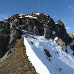 Aufstieg zum Alpkopf