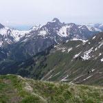 Hochkünzelspitze.Gesehen von der Höferspitze.