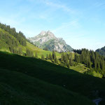 Hochkünzelspitze.Gesehen von der Felle Alpe.