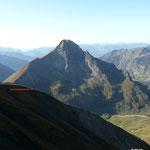 Älpelesattel mit Südsüdostgrat und Ostgipfel gesehen von der Jochspitze