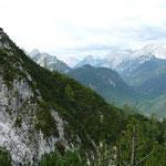 Beim Aufstieg Richtung Lindlähnkopf mit Blick zur Großen Arnspitze